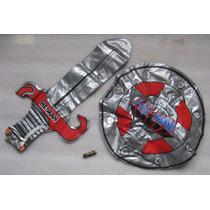 Espada Y Escudo De He Man Inflables Vintage 80s