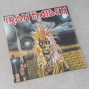 Vinil Lp Iron Maiden 1980 1º Album Lacrado