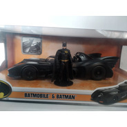 Batimovil Batman Tim Burton Metals Die Cast Jada