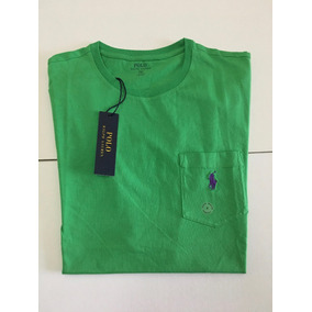 Remeras Bright Colors Classic Fit Pocket Polo R Lauren