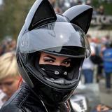 Casco Con Orejas De Gato Nitrino Kitty