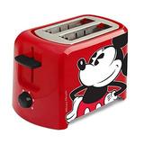 Disney Mickey Mouse Clásico Tostadora - Dos Rebanadas Ancha
