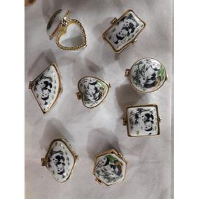 Caja Pastillero Ceramica Motivos Consultar Medida 4x4cm Ir34