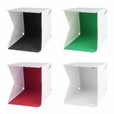 Mini Cubo Caja Iluminación Fotográfica 26 Led 4 Fondos