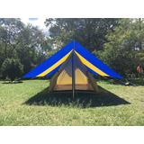 Carpa Camping Para 6 Personas Personalizadas 1año De Garanti