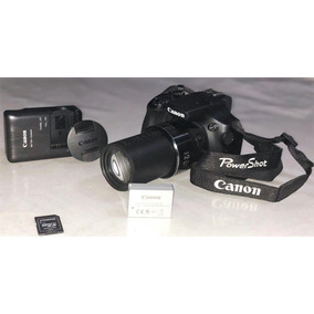 Canon Powershot Sx60 Hs *16.1mp *zoom 65x *8gb