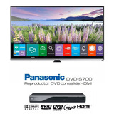 Combo Smart Tv Led 50 + Dvd Panasonic Hdmi Mp3