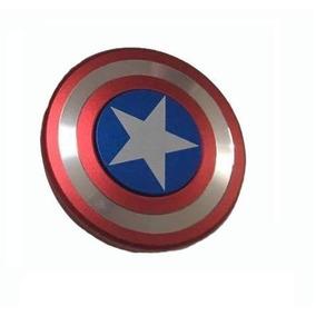 Fidget Spinner Importado Capitán America Aluminio Gira +3 M
