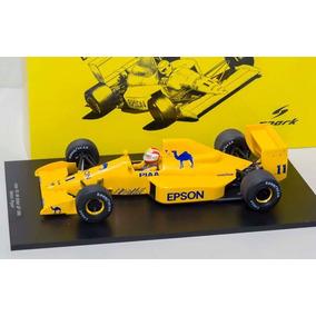 Lotus 101 1989 F1 Nelson Piquet Spark Escala 1/18 Senna.