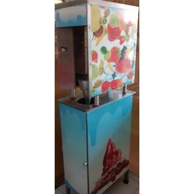 Maquina Para Hacer Helados De Yogurt Con Fruta Natural