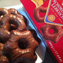 Pão De Mel Alemão Com Chocolate Schokoladen Lebkuchen 500gr
