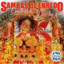 Cd Sambas De Enredo - Carnaval 2014 Série A Rj (lacrado)
