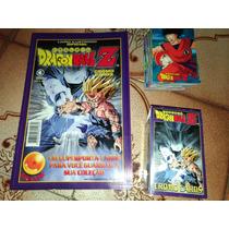 Livro Ilustrado + 104 Cromo Cards Dragonball Z Conrad