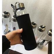 Funda Para Botella Cristal Para Agua Alcalina Cuarzo