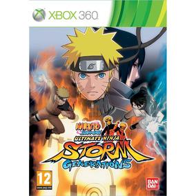 Jogo Naruto Shippuden Ninja Storm Generations Xbox 360 Lacra