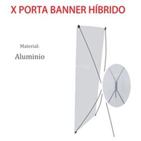 X Porta Banner Híbrido (display) 80 X 180 Cm.