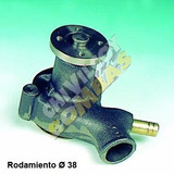 Bomba De Agua Ch0043 Ford Falcon 80/82 Eje 38mm