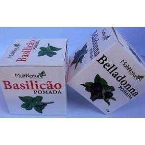 Basilicão E Beladona Pomada Alta Qualidade Multnature !!!
