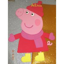 Figuras De Goma Eva Pepa Pig 60 Cm