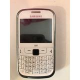 Celular Samsung Gt-s3350 Blanco Usado