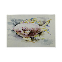 Pintura Artecooper Classics Red Fish 36 X24 Rectangular Can