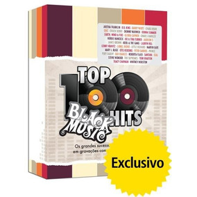 Top 100 Hits - Black Music - Box Com 5 Dvds - Exclusivo
