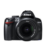 Cámara Nikon D3000 Dslr 6 Piece Bundle With Mm F/ G Af-s &
