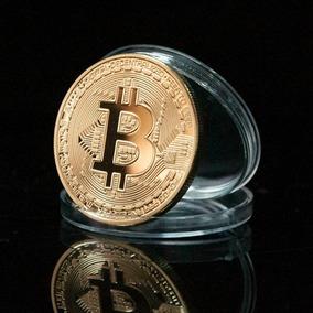 10x Moeda Fisica Bitcoin Detalhes Relevo Coleçao (original)