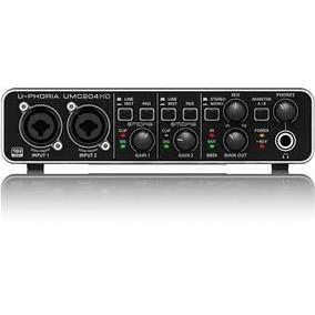 Behringer Umc 204hd Umc204 Umc204 Hd Interface Behringer Umc