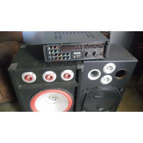 Planta Mkv Con Dos Bajos De 15 Radio Fm Pendrive Y Micro Sd