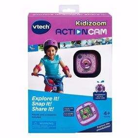 Câmera Vtech Kidizoom Action Cam, Purple Roxa ´go Pro Kids´