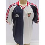 Antiga Camisa De Futebol Do Athletic Bilbao Da Espanha Kappa