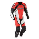 Traje Piel Protecciones Moto Joe Rocket Speedmaster 6.0 Rojo