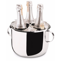 Balde Champagne 6l Com Grelha Aco Inox Forma