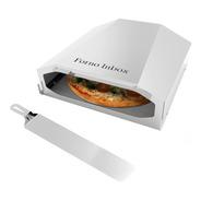 Forno Pizza Gás Industrial Refratário 1 Pizza