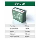 Kit 2 Bateria Selada 12v 20ah Ciclo Profundo 6-dzm-20 Global