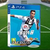 Fifa 19 Ps4 X1 Ps3 Fisico 70tru Español Latino + Tienda
