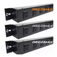 Canal De Tension 5 Tomas Para Rack 19 220v S/termica C/cable