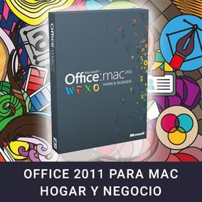 Office 2011 Para Mac ( Hogar Y Negocio)