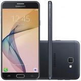 Celular Samsung Galaxy J7 Prime Preto + Película De Vidro