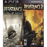 Resistance 1 + Resistance 2 Ps3 Digital Español Gcp