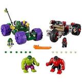 Lego Marvel Super Heroes Hulk Contra Rojo Hulk 76078 Superhe
