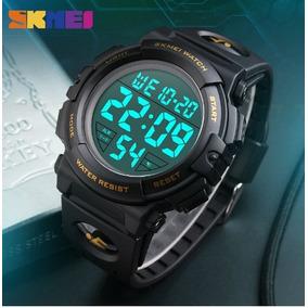 8fd766aabb9 Relogio Digital Esportivo Silicone Preto - Relógios no Mercado Livre ...