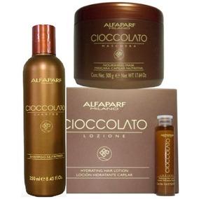 Alfapart Cioccolato Shampoo + Mascarilla 500g +12 Ampolletas