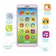 Baby iPhone Celular Bebê Educativo Rosa Buba