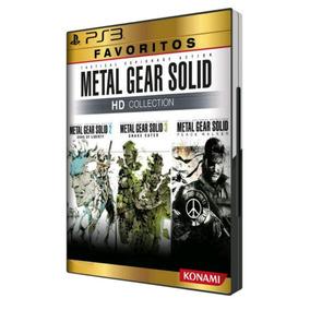 Metal Gear Solid Hd Collection Mídia Física Lacrado Ps3