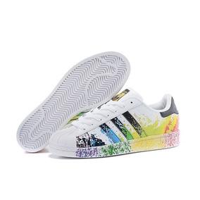 Tenis adidas Superstar Pride Pack Hombre Original Buen Fin