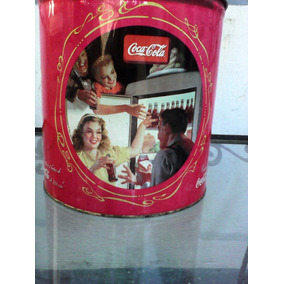 Lata Coca Cola Redonda
