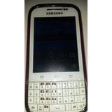 Celular Samsung Galaxy Chat Gt-b5330 Blanco Digitel Usado