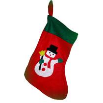Bota Navideña Pañolenci Grande Adorno Navidad Artesanal